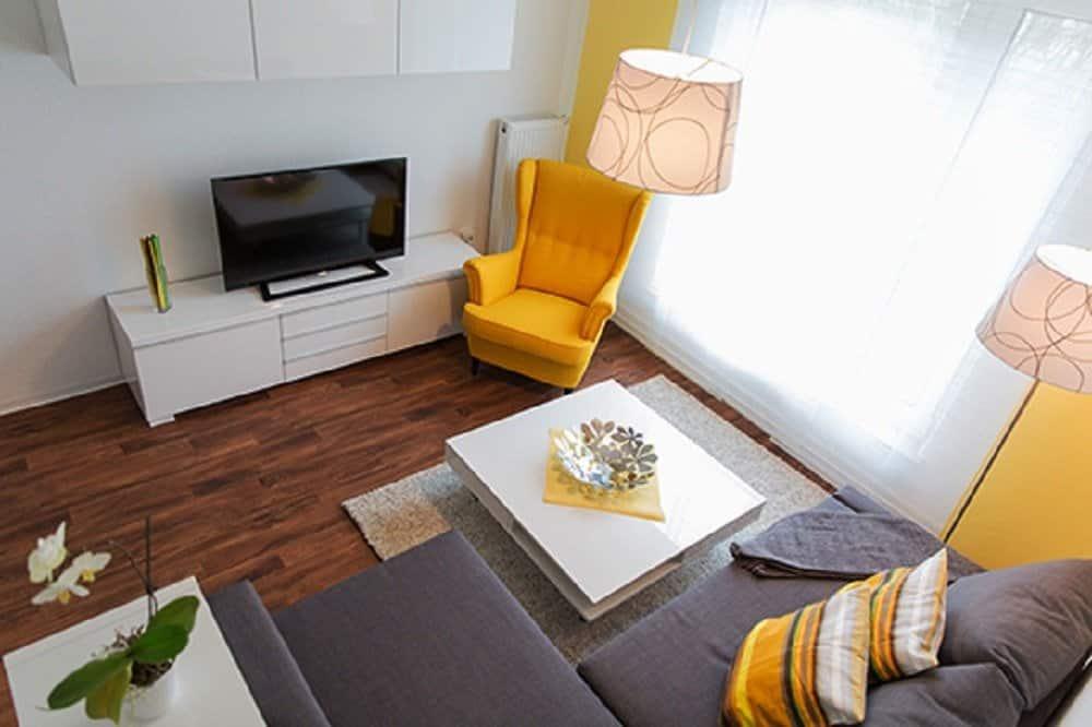 Wohnzimmer gelb grau - die senftenberger
