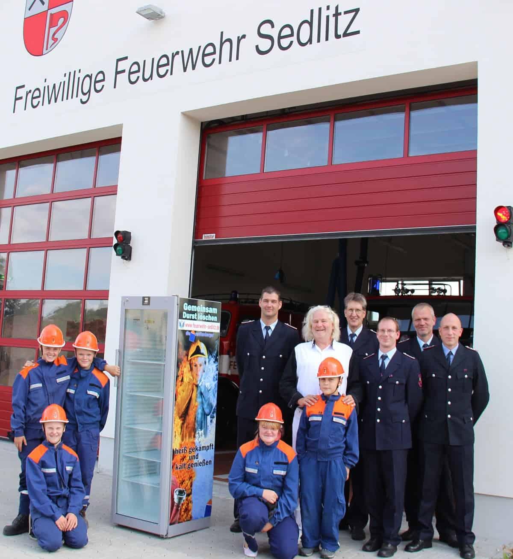 Ein Bild der freiwilligen Feuerwehr Sendlitz.